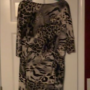 Muse leopard print dress